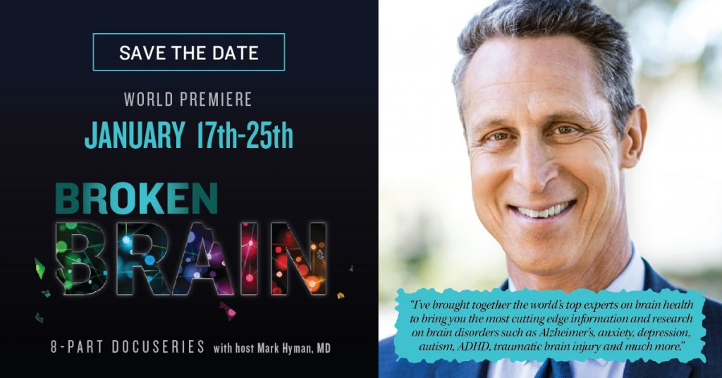 Dr. Mark Hyman MD Broken Brain
