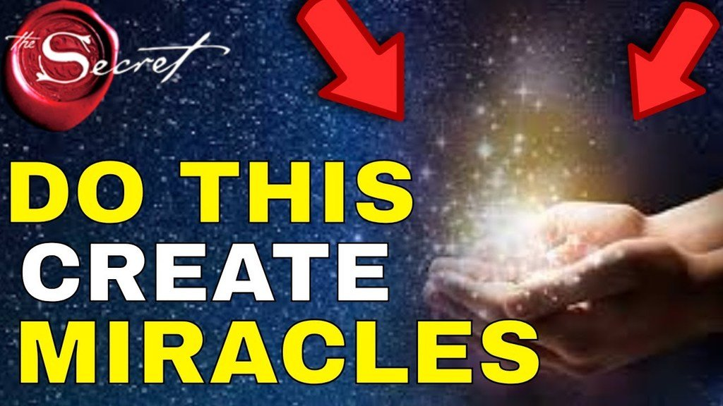 how to create a miracle