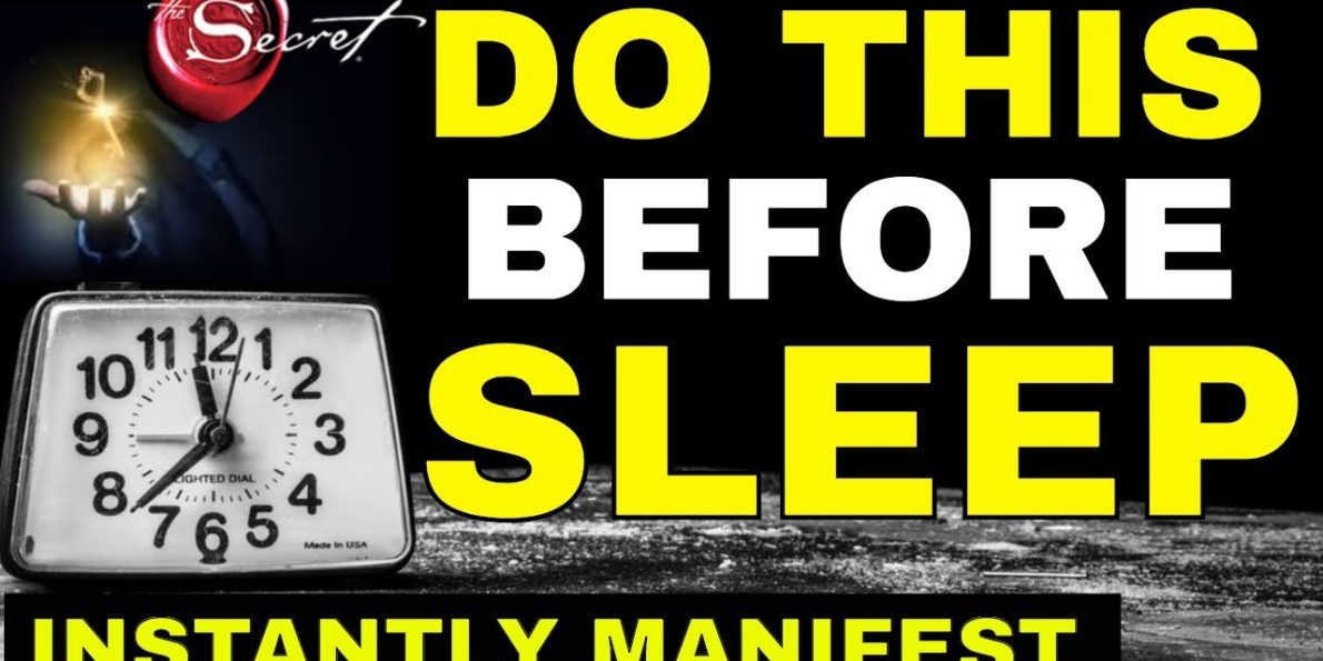 manifest while you sleep