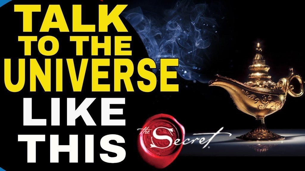 communicate with the universe