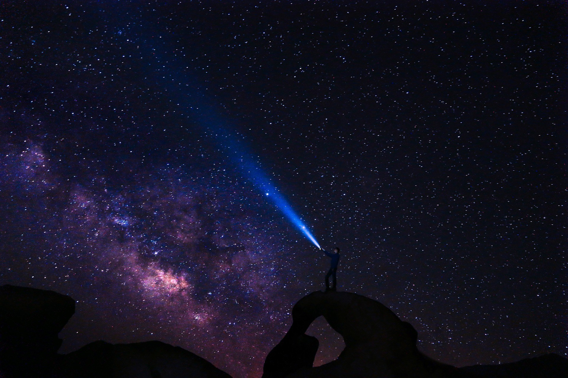 speak to the universe