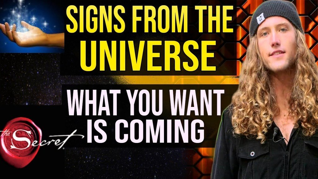 SIGNS FROM THE UNIVERSE- 3 Ancient Signs What You Want Is Coming!
