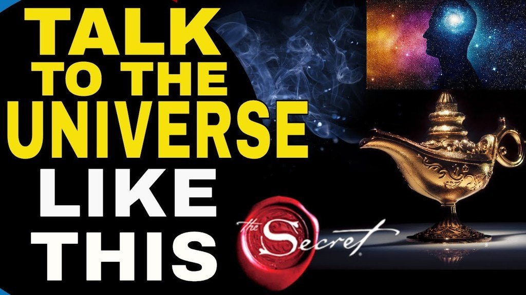 How To Talk To The Universe To Manifest Anything You Want
