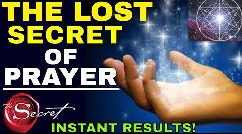 lost secret of prayer